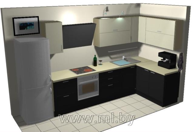 Угловой шкафчик для кухни