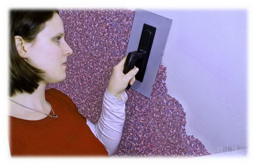 Как подготовить стены под жидкие обои | 553x852