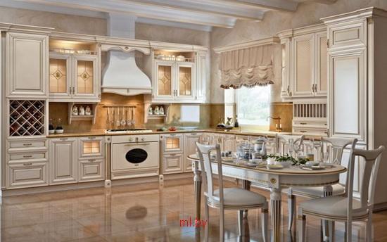 кухня в стиле классика фото