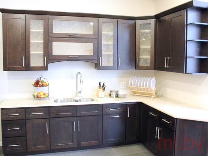 фото кухни из рамочного мдф