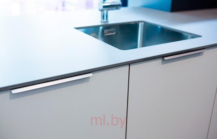 профильные ручки на торцы кухонных фасадов Mlby