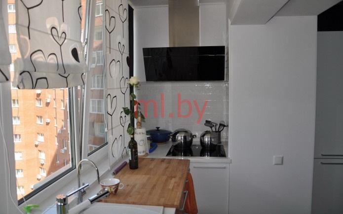 """Дизайн кухни совмещенной с балконом"""" - карточка пользователя."""