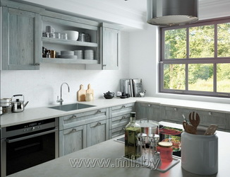 Кухни на заказ из рамочного фасада купить кухню полуостров
